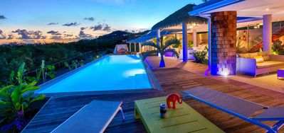 Villa Bahia Blue -  Ocean View - Located in  Magnificent Terres Basses with Private Pool