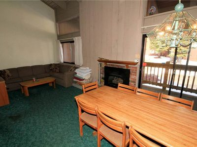 Photo for Mammoth Ski and Racquet Club #49, 2 Bedroom + Loft, 2 1/2 Bathrooms, Pet Friendly