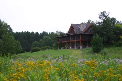 View of the main lodge