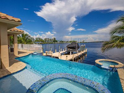 Photo for Stunning, River Front Home in Cape Coral - Coral Bliss