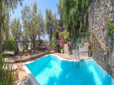 Photo for Spectacular 4 bedroom villa with private pool on the Amalfi Coast near Positano