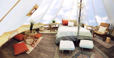 Photo for The Luxury Canvas Bell Zen Tent