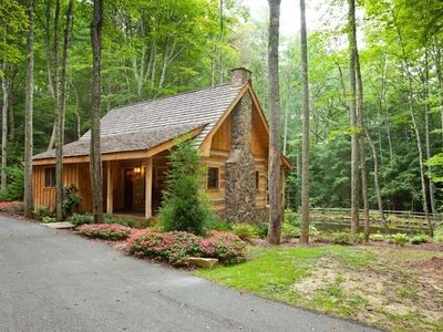 Photo for Cold Mountain Pond is a blissful waterfront cabin tucked away in a private setting. Non pet-friendly