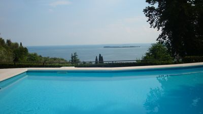 Photo for Top equipped apartment with priv. Garden and pool for 4+ persons