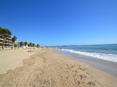 Photo for Costa D'or:Front of the beach-Free wifi+AC+linen-Near the center's Salou