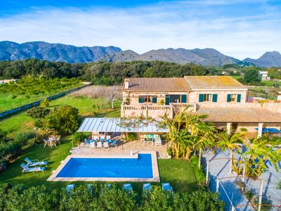 Photo for ☼ Large estate in Pollenca Bay