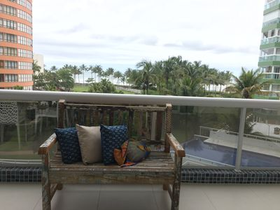 Photo for Apartment overlooking the sea and private access to the beach in mod. 3.