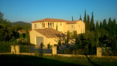 Photo for Beautiful villa in the middle of the Pont Royal Golf pool views Alpilles - luberon