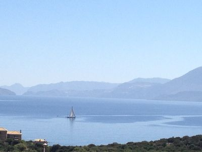 Photo for Agios Nikolaos: Fissi villas Agios Nikolaos, traditional houses ideal for families and groups of friends.Huge garden and magnificent sea view.