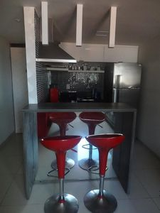 Photo for Flat 40 m from the sea of Bessa Joao Pessoa Air conditioning throughout the flat