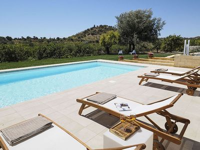 Photo for Modern HolidayHome in Noto with Pool