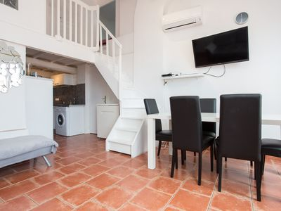 Photo for central apartment 5 minutes from the Palais des Festivals and beaches