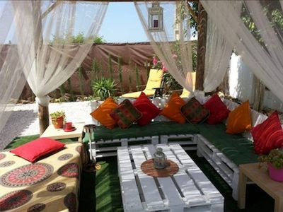 Photo for Fantastic Holiday House Casa Oliva with Shared Pool, Garden & Terrace; Parking Available, Pets Allowed