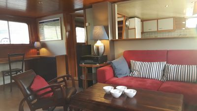 Photo for Petty lodge accommodation on the Rayclau barge