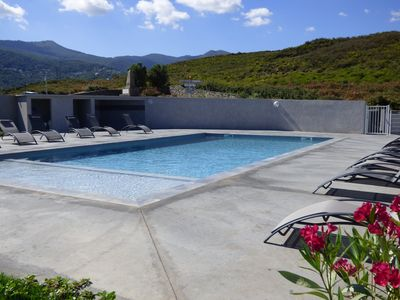 Photo for T4 apartment with pool in luxury residence / 6 people
