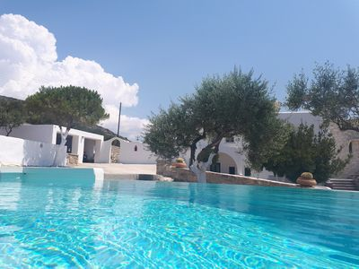 Photo for Luxury villa Kassandra on Paros