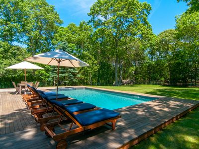Photo for Private, Charming, Lovely Farmhouse situated on 1 acre in Wainscott East Hampton