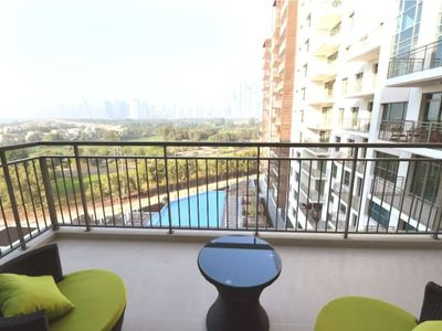 Photo for 2 BR Apartment with Golf Course & Pool View Greens (Panorama Tower)