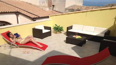 Photo for CASA MADRICE blu - an oasis of relaxation a stone's throw from the marina-