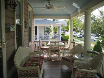 Photo for Spacious beach house walking distance to the beach, restaurants, shops and more.