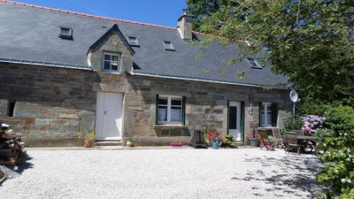 Photo for Boduic house -tranquil,private enclosed garden,near Guerledan Lake & Pontivy