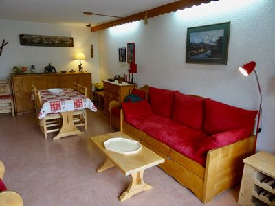 Photo for Nice 2 rooms village center of combloux