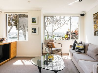 Photo for Waterfront Apartment Brimming with Inspirational Artwork
