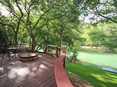 Photo for Ponderosa Paradise- Waterfront Home on the Guadalupe River!