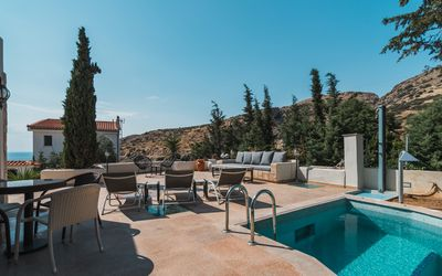 Photo for Villa Eve, Next to the Temple of Poseidon. Private Pool next to the beach
