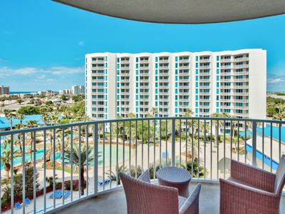 Photo for Copelands Palms Haven * 7th floor Views * Summer Savings! Jr. Suite!