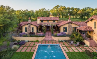 Photo for Carriage house at the Villa on 4 acres with large pool and working vineyard
