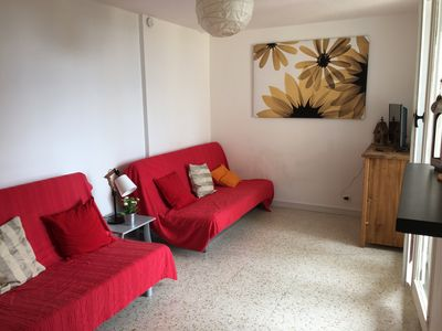 Photo for SMALL SEA VIEW - PRIVATE PARKING - 4 PEOPLE