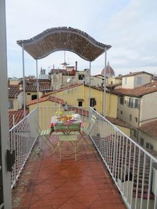 Photo for Apartment in the center of Florence with Internet, Air conditioning, Lift, Terrace (923652)