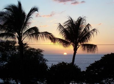 Sunset #1 - One Of Many From Our Lanai
