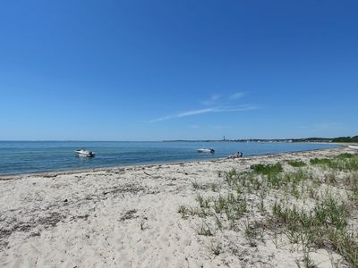 Photo for Walk thru Dunes to Private Beach--Spacious 2 Bedroom with Peeks of Cape Cod Bay