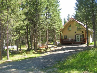 Photo for Special Spring Discount! - Neil's Yellowstone Getaway – Peaceful Forest Cabin