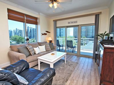 Photo for Crystal Tower 201 - Spacious Corner Unit with Easy Beach Access!