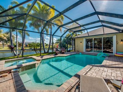 Photo for New to VRBO,Modern, Family Friendly Home On The Water-Heated Elec Pool-Spa, WIFI