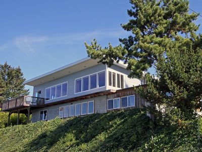 Photo for Large private property with spectacular Olympic mountain and Puget Sound views.