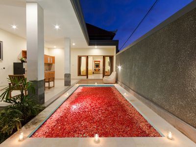 Photo for Romantic 1 BR Deluxe Pool Villa At Paisa Seminyak