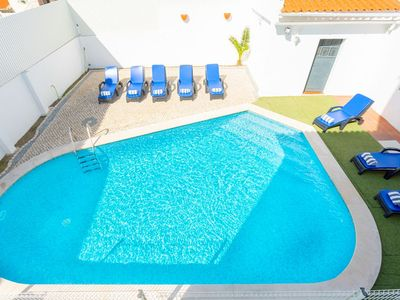 Photo for Villa Solmar - Portuguese Style 4 Bedroom Villa for 8 People - Private Pool - Table Tennis - Badmint