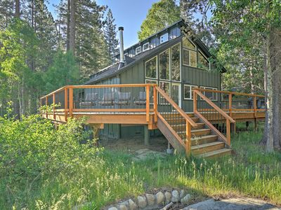 Photo for Lodge-Style South Lake Tahoe Home w/Forest Views!