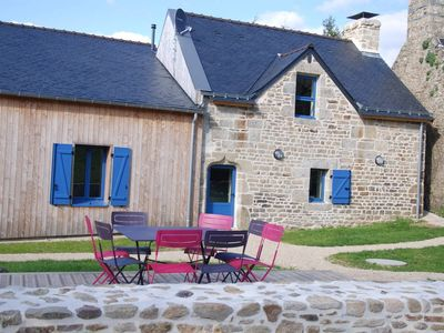 Photo for Cottage 85 m2 4 stars riverside at the domaine des Cavaliers GUIDEL