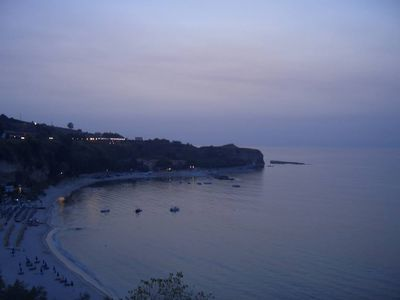 Photo for Lovely apartment on the sea in a residence a few km from Tropea
