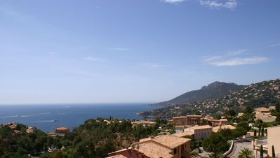 Photo for 2-storey terraced villa with 2 south-facing terraces with panoramic sea views
