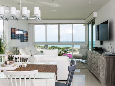 Photo for Perfect Island-inspired Ocean-view 3BDR Condo. Blue-416