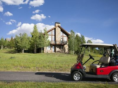 Photo for Fairway Drive Boasts Big Views & Easy Access to the Nordic Ski Track or Golf Course
