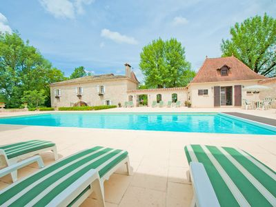 Photo for Enchanting House and Gite located in the Lot, S-W France - family friendly
