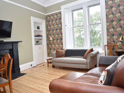 Photo for Beautiful 3BR Marchmont flat 15 mins to Old Town