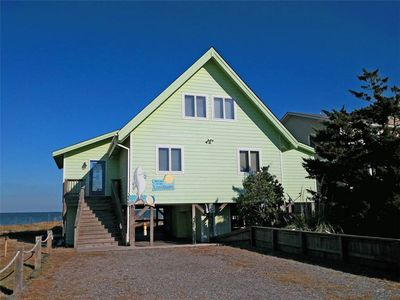 Photo for Landshark:  Dog friendly waterfront home, game room, sound views.
